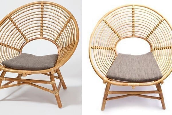 Chair From Rattan Pole