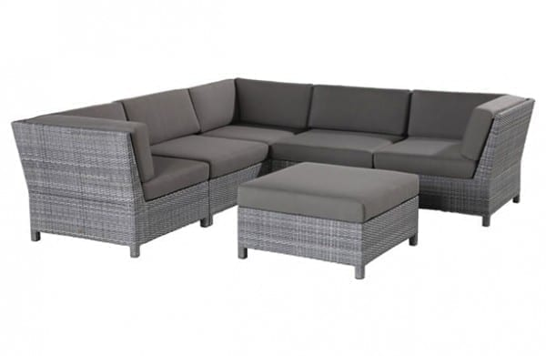 Synthetic Rattan Sofa Set And Lounge Chair Yuni Bali Furniture