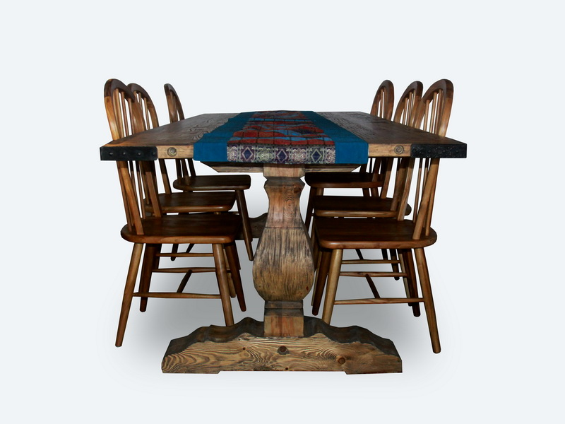Jawa Art Recycled Teakwood Dining Table Yuni Bali Furniture Bali - Indonesian teak dining table